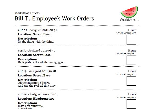 workmelon simple online work order management software